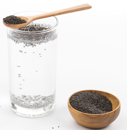 Chia Seeds with Water