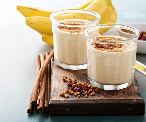 Cinnamon Banana Shake